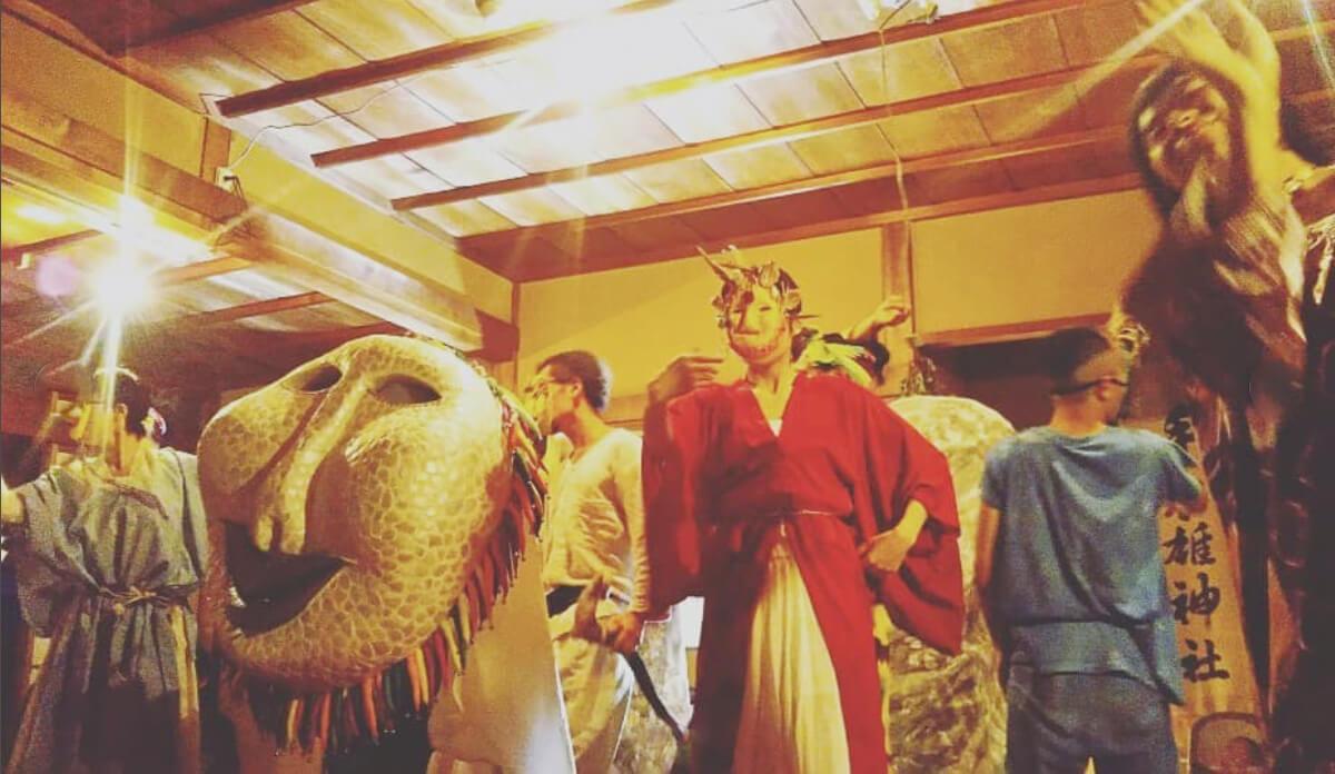 日本神話舞台