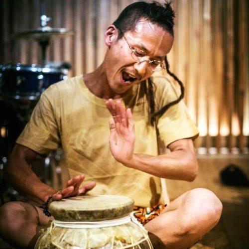 世界のいろんなところで、いろんな人とたいこをたたいています。今年も稲フェス、手力雄さんで演奏できるの楽しみ!