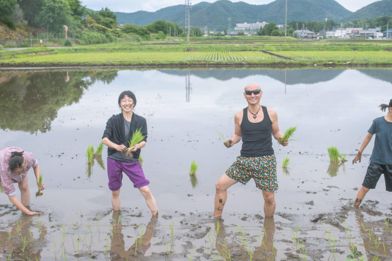 日本神話の役者も参加してくれました!
