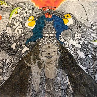 1992 岐阜市生まれ instagram yuta_watanabe11  今年の日本神話公演『天の岩戸開き』の岩戸も手掛けていただきました。