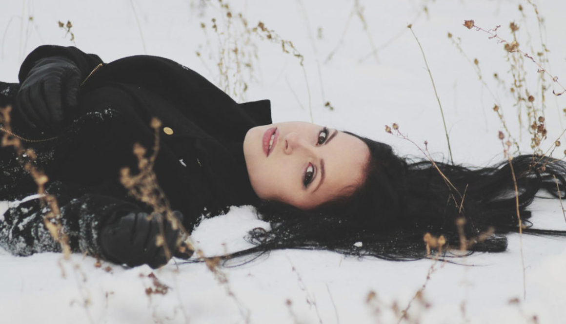 Woman on Snow